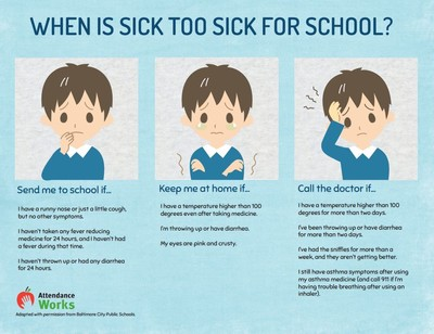 When Is Too Sick to Send a Child to School?