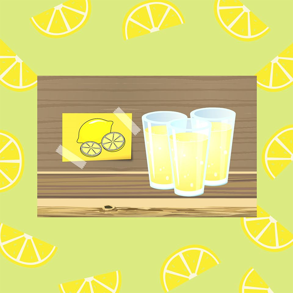 Lemonade Sales Add Up to New Picnic Tables