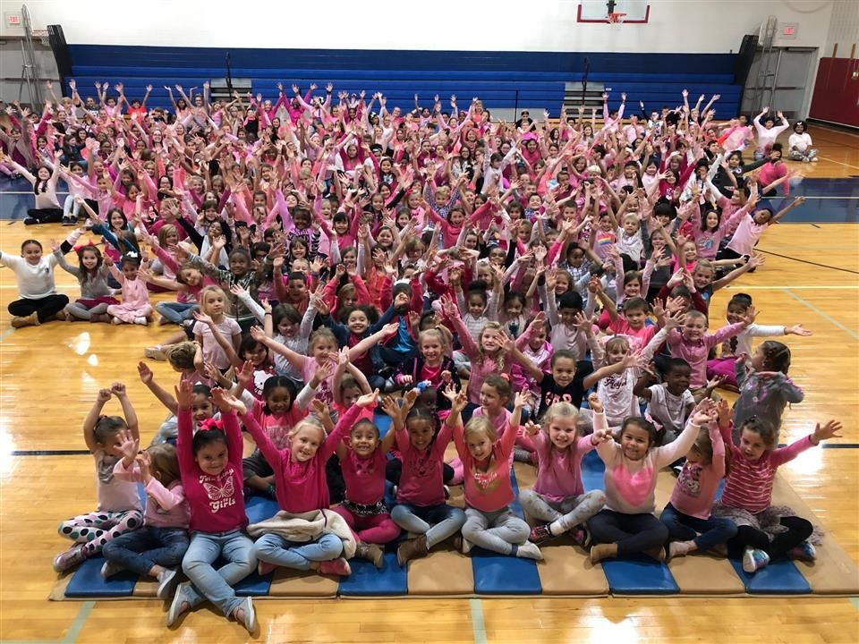 Students wear pink!