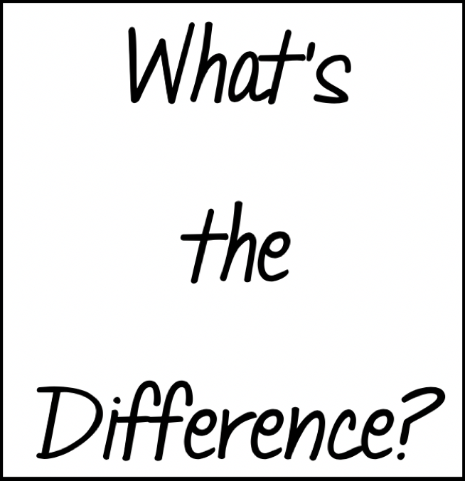 text What's the Difference?