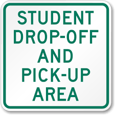 PARENT PICKUP AND DROP OFF UPDATE!